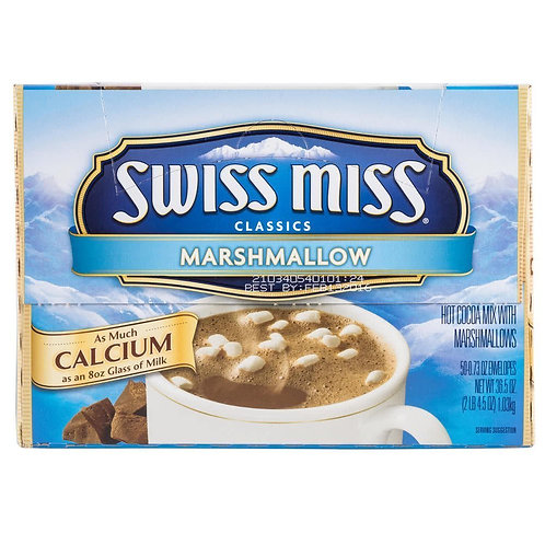 Swiss Miss Marshmallow cocoa