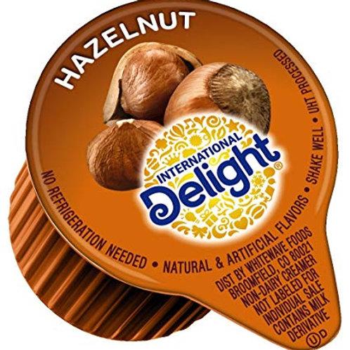 International Delight Hazelnut Liquid Cream Cups - 48 cups per box