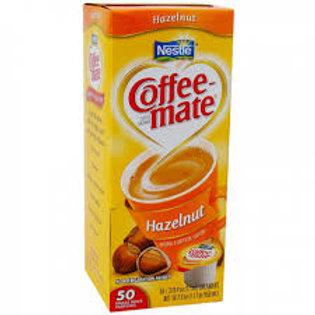 Coffee Mate hazelnut liquid cream