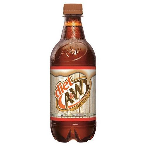 Diet A&W Root Beer 20 oz