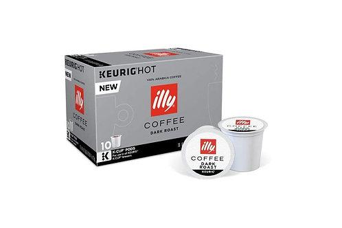 illy dark roast K-cups