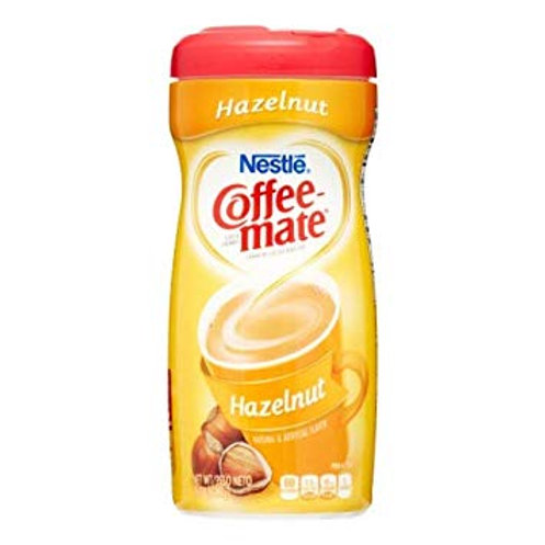 Coffee Mate Creamer Hazel Powder canister