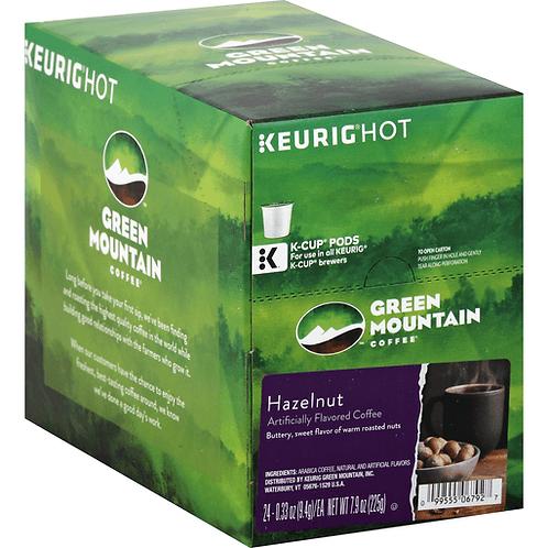 Hazelnut Green Mountain K-cup