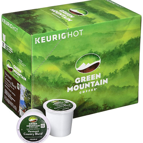 Green Mountain K cup coffee Vermont country blend