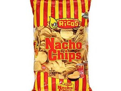 Ricos Nacho Chips Single Serve 3 oz - 48 count
