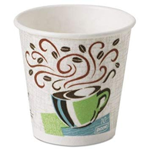 8 oz Dixie Perfectouch Hot Cups - 25 count sleeve