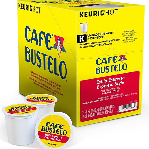 Cafe Bustelo Espresso K Cups