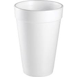 16 oz Styrofoam Cups - 1,000 count