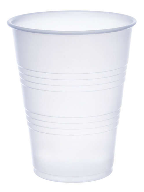 9 oz Plastic Cold Cup Translucent - 2,500 count