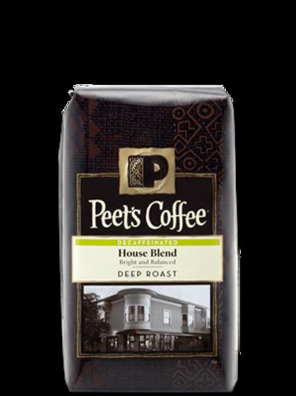 Peets Decaf House Blend
