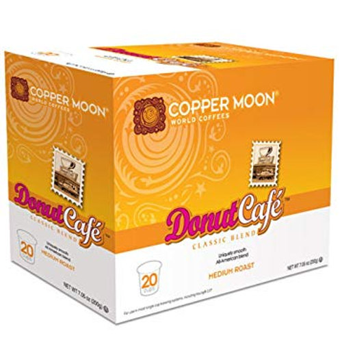 Copper Moon Donut Cafe K Cup