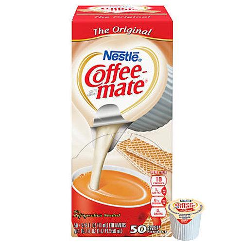 Coffee Mate Liquid Cream Cup 50 count