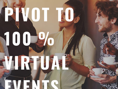 Why We Won't Pivot to 100% Virtual Events