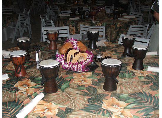 big island table decor