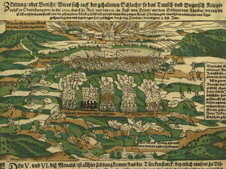 Account of the Battle of Szikszó (Hungary, 1588)