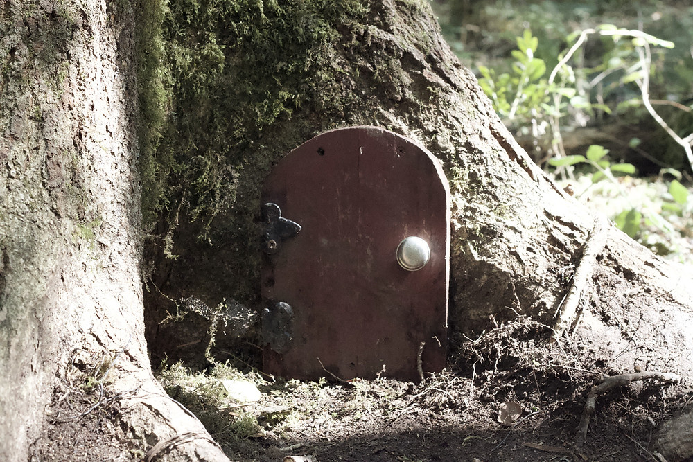 Pooh door Ashdown Forest