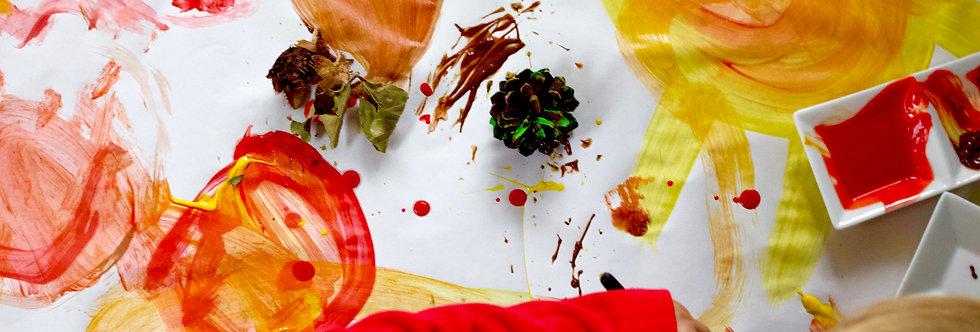 Gluten-free Food Grade Washable Fingerpaint - Singles