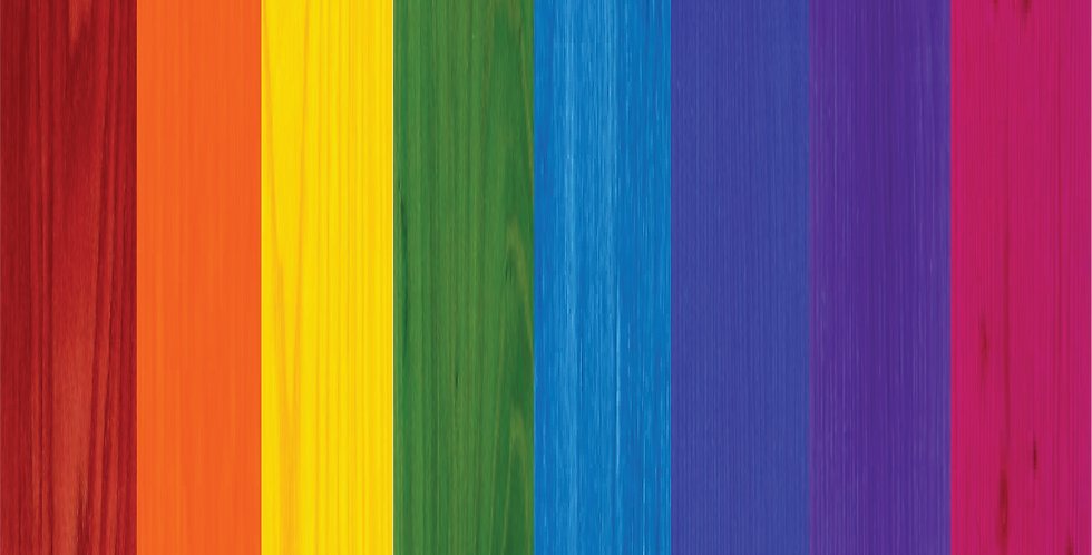 Rainbow Pigment Stains 7 Set