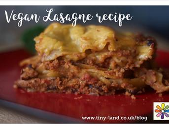 Vegan Cheese Sauce and Lasagne Recipes