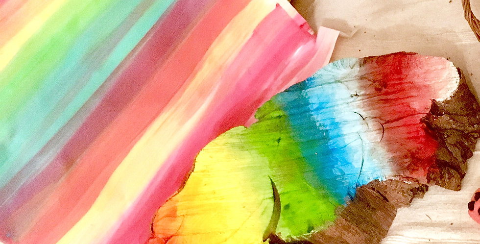 Wonder Paints! (Our Highly Pigmented poster paints)