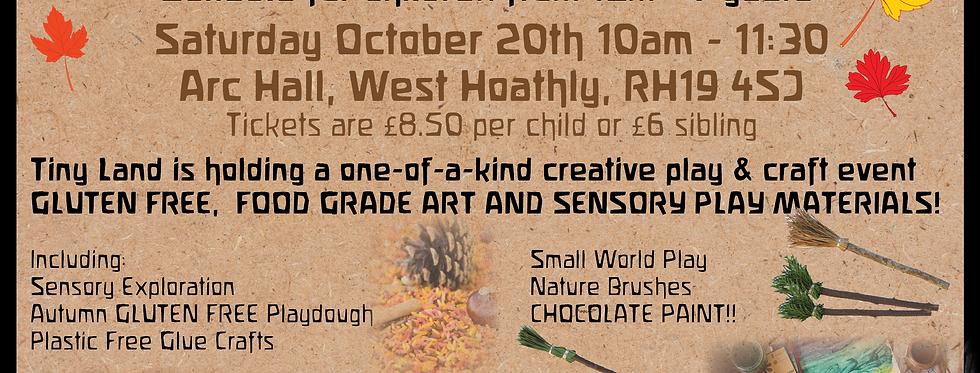 Nature Based Autumn Sensory Crafts