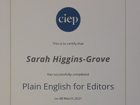 Writing in plain English