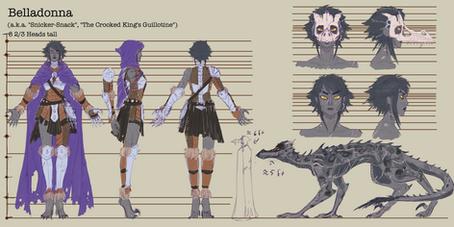 Belladonna Character Sheet