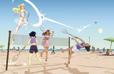 Badminton Death Match