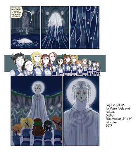 Sample Page of Prototype Comic Book