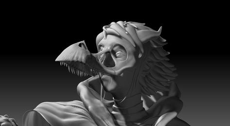3D Portrait of Belladonna
