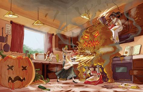 Monstrous Pumpkin Bread