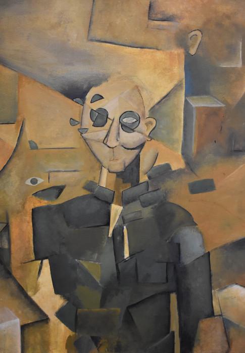 Self Portrait of Jakob Brausand