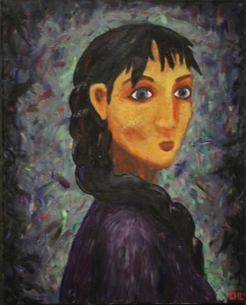 Portrait of a girl in my head