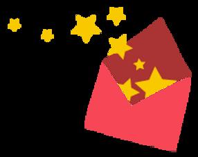 Star Bursting Envelope