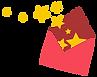 Una estrella de ruptura de sobres