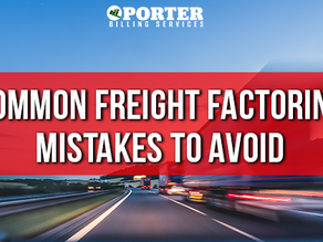 Common Freight Factoring Mistakes to Avoid