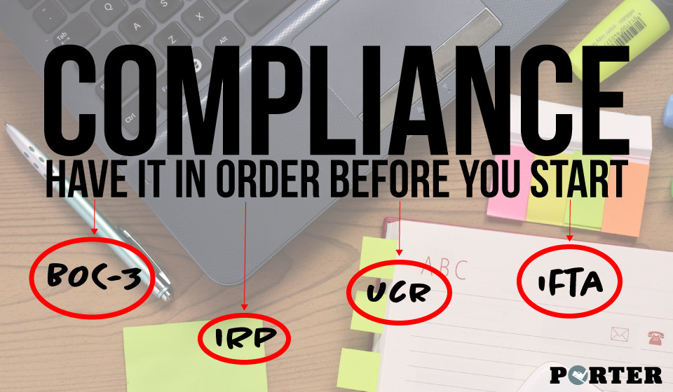 Have your compliance in order to run your trucking company: BOC-3, IRP, UCR, IFTA