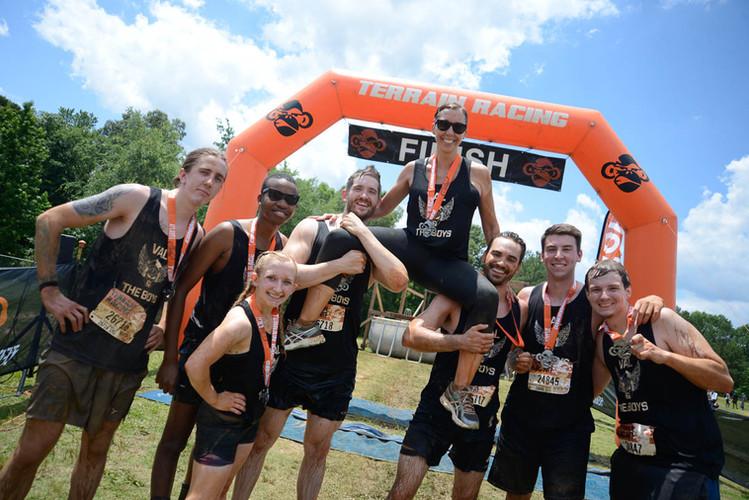 Porter Billing Team Mud Run