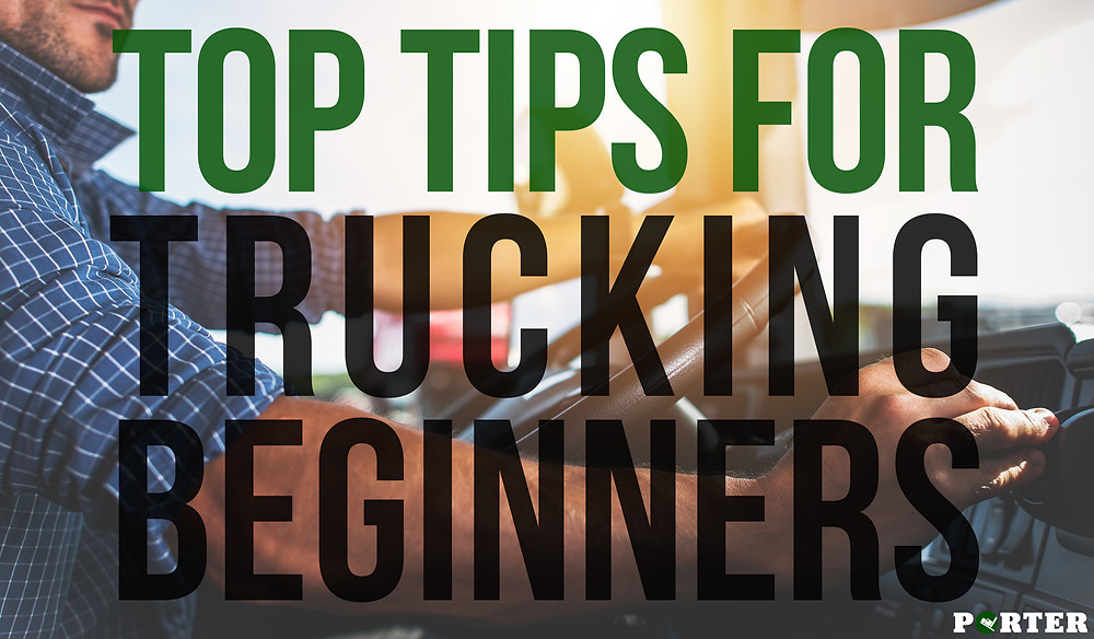 top tips for truck driver beginners