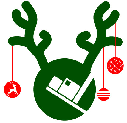 Christmas season holiday logo from Porter Billing Services