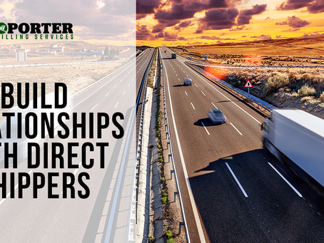 Build Relationships with Direct Shippers