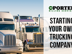 Starting Your Own Trucking Company