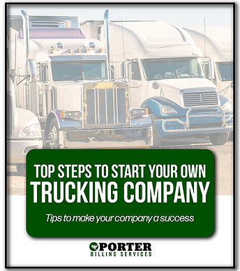 Top steps to start your own trucking com