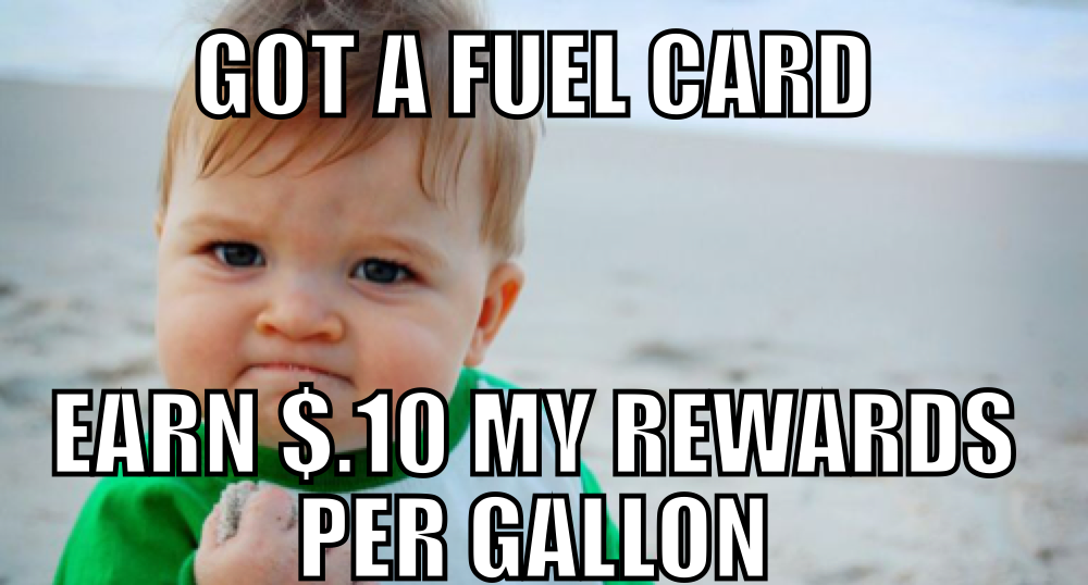 earn rewards with a fuel card