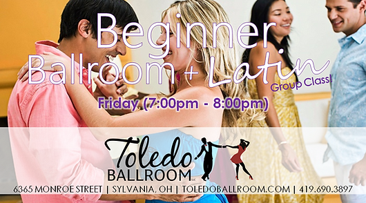 Beginner Ballroom & Latin Group Class (N