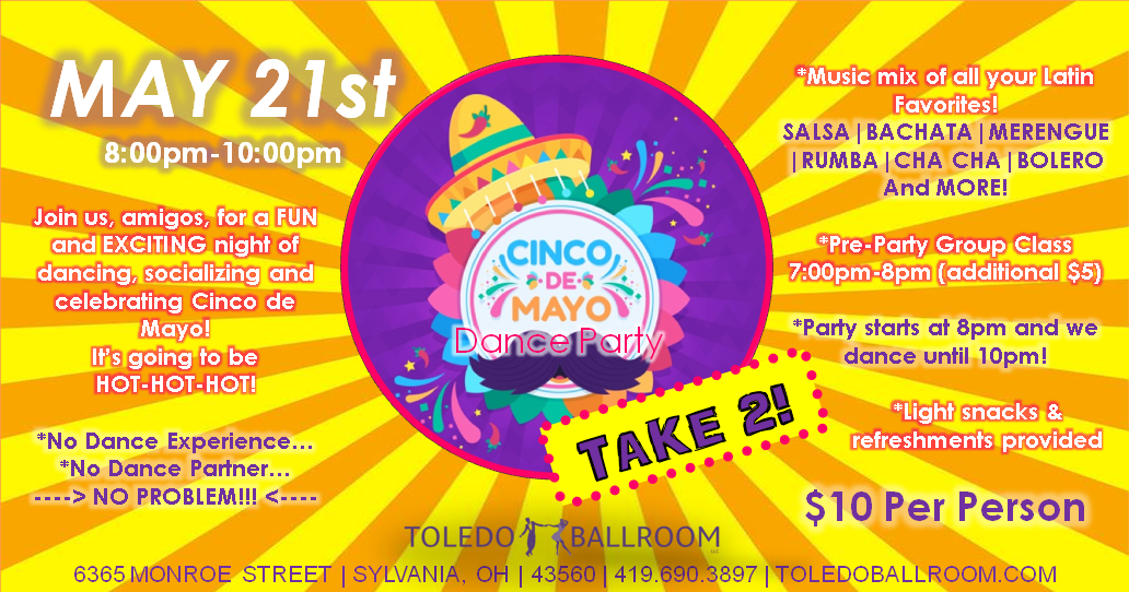Cinco de Mayo TAKE 2 Dance Party (2021).