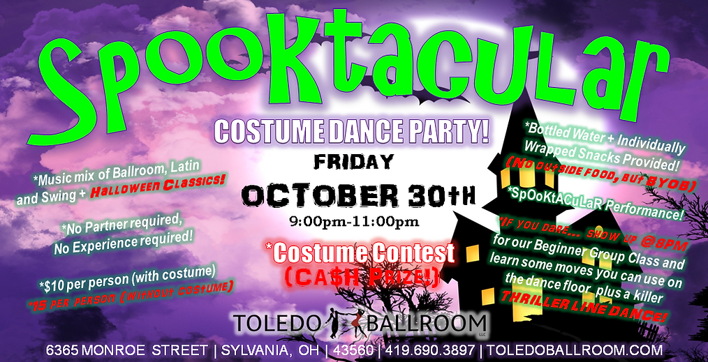 OCTOBER 2020 (Spooktacular Dance Party).