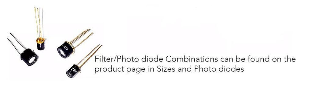 Integrated Filter Detectors/Diodes