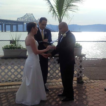Judge Tawil presiding over wedding