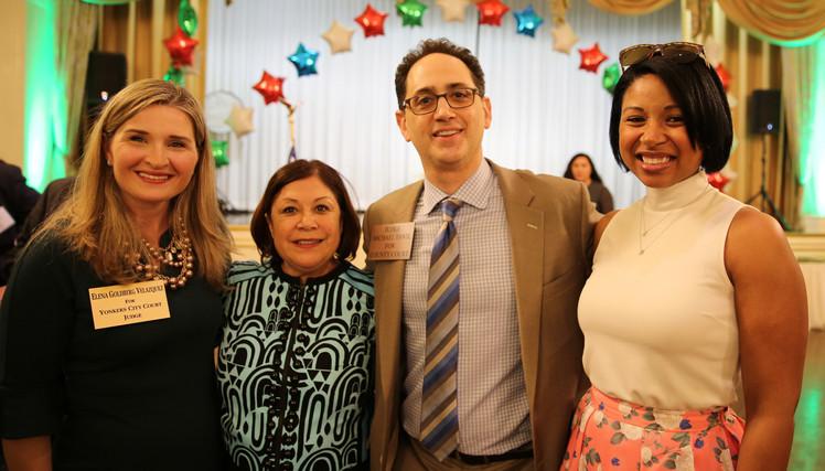 Elena Goldberg Velasquez, Martha Lopez, Corazon Piñeda Isaacs